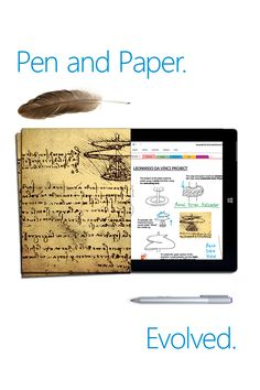 Create a virtual Maker Space.  Using Surface 3 and OneNote, you can provide a collaborative digital notebook for your students to jot down their creative ideas and projects. They can write notes, annotate PDF text, draw diagrams, insert images, record audio and video, and share their ideas with others. Stimulate curiosity and creativity in your classroom with Surface 3 and OneNote.