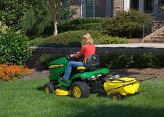 Tow-Behind Sprayer Spraying & Spreading John Deere Attachments, John Deere Lawn Mower, Tractor Seats, Lawn Equipment, Riding Mower, Farming, Firewood, Ranch, Garden Ideas
