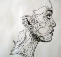 organic line portrait