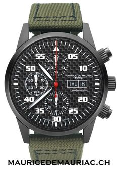 Swiss made watches from Maurice de Mauriac. http://mauricedemauriac.ch/ Men's watches.