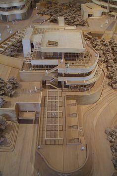GETTY CENTER MODEL • Richard Meier Partners Architects, http://www.richardmeier.com/www/