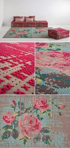 {bibi dac}: cross stitch