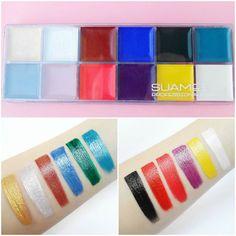 12 Color Greasepaint Palette Swatches with @lizbreygel Review on Glam Express >> http://ift.tt/2fL7HHv Share your looks to be featured #GlamExpress or http://ift.tt/1LKibRA ( Upload on site to win cool stuff )  . . . @bornprettystore #makeup #motd #eyemakeup #makeupaddict #makeupporn #makeupjunkie #makeupmafia #makeupobsessed #makeupmurah #makeupartist #mua #beauty #beautyaddict #palette #makeupbyme #instamakeup #wakeupandmakeup #makeuplover #makeupforever #greasepaint