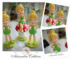 Alessandra Caldeira atelier Modeling Biscuit: Tinker Bell - They always are successful