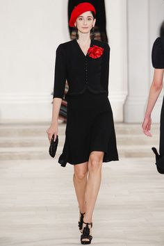 Ralph Lauren SS 2013    I know, not my typical go-to but totally how I see myself