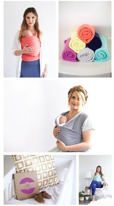 Solly Baby Wraps - such pretty colors! I love the coral and orchid!