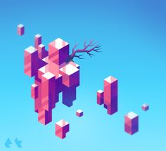 Hexels Feature Friday June 6th 2015  Following our big announcement yesterday, we're very happy to be presenting to you our first Feature Friday; officially as Marmoset Hexels! We've got some stellar submissions to share with you on this fantastic start to the weekend.  Be sure to check out our new Hexels product page here! http://marmoset.co/hexelsPrinciples of Levitation by Etall. Emma never fails to deliver extraordinary pieces on her Doodle of the Day tumblr.I don't know what I don...
