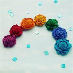 Joy Camelia Ribbon flower