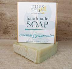 Rosemary & Peppermint Handmade soap