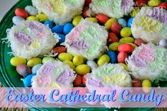 Easter Cathedral Candy | MomOnTimeout.com #Easter #recipe