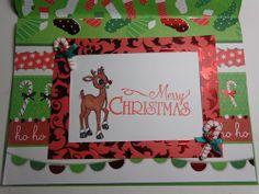 #christmascard #card #papercrafting #cardmaking #stamping #winter #christmas #reindeer