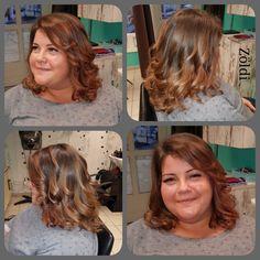 #zöldiszilvia #munkám #mywork #hajvágás #haircut #balayage #lovemyjob #imádomamunkam #matrix #matrixhair #matrixcolor
