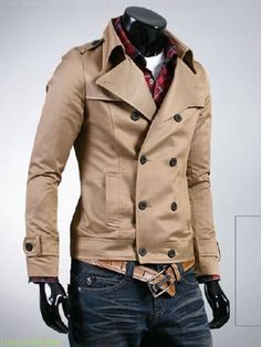 Fitted overcoat