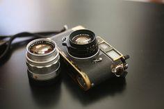 black paint Leica M2