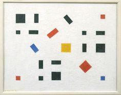 Bart van der Leck-Composition 1918 Van Abbemuseum Eindhoven