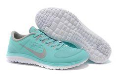 Nike FS Lite Run Womens Shoes Light Blue