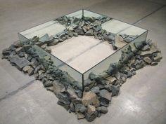 ROBERT SMITHSONRocks and Mirror Square II, 1971