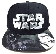 Star Wars Darth Vader Stormtrooper Galactic Empire Logo Snapback //Price: $16.99 & FREE Shipping //     #starwarsmeme