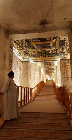 Tomb of Ramses VI, 12th cent. BCE #egypt