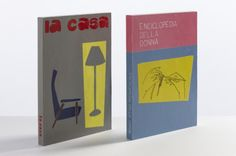 Fake Books by Emanuela Ligabue. They are handpainted wooden blocks, made to look like a book