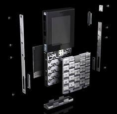 +YvesBehar Mobile Phone by Yves Behar for Æsir