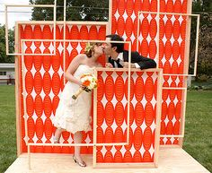Ideas for wedding ceremony altar outdoor photo booths Outdoor Wedding Backdrops, Diy Outdoor Weddings, Wedding Decorations On A Budget, Small Weddings, Intimate Weddings, Diy Wedding Photo Booth, Wedding Photos, Wedding Altars, Wedding Ceremony