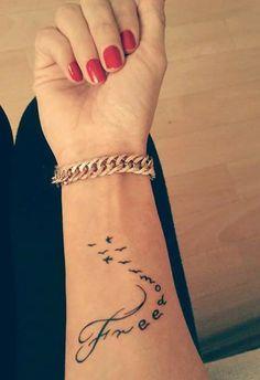Tatuaż nadgrstek