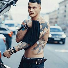 Guys with tattoosCheck out @smokenmen for more!