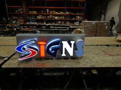 Exhibit Channel Letter Sign | Direct Sign Wholesale