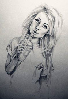 Tumblr Girl Drawings No Face | Drawing of girl | via Tumblr | We Heart It