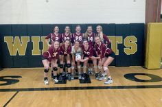 Just one set into the Neosho tournament last weekend, Logan-Rogersville head volleyball coach Tammy Miller pulled her team aside and talked about giving better effort. Volleyball Articles, Coaching Volleyball, Basketball Court, Lady, Sports, Hs Sports, Excercise, Sport, Exercise