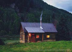 small hunting cabin plans   Deer Hunter's Lodge • New York ...