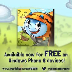 Wood Chopper free game for Windows Phone 8 devices   Wood Chopper is a nice physics-based puzzle game where you control the bright orange helicopter with the name Chip. The direct and intuitive touch screen and manipulate the full variety of tasks such as carrying logs, in which Larry the woodcutter will help you in solving puzzles, and progress into the woods.