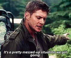 "Zachariah's ""Future Dean"" about Castiel"
