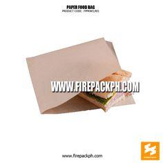 Bread bag supplier Fries Container Hamburger Wrapper www.firepackph.com skysummitgroup@asia.com