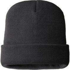 Beanie Plain Knit Hat Winter Warm Ski Warm Men Woman Black Four layers  knitted a9b20e6fc2b7