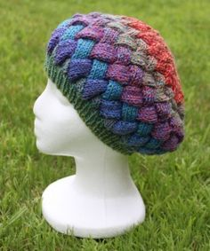 so want to knit it! never have done entrelac
