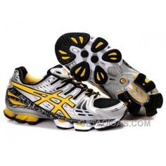 51c774208 Asics Gel-Kinsei 2 Mens Grey Yellow Black Online