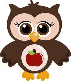 School Owl by Nichole Calmes, via Behance