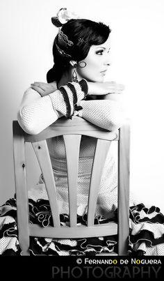 Ines arte flamenco by Fernando de Noguera Arnal, via 500px