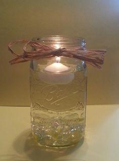 Country Wedding Decorative Mason Jar by RusticCntryTreasures, $20.00