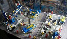 A killer space LEGO spread. #LEGO #toys #toy #space #minifigure #minifigures #vintage #retro #classic #80s #1980s