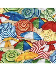 Beach umbrellas - Timeless Treasures
