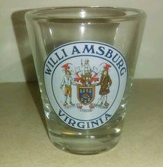 Williamsburg, VA Shot Glass - Virginia Souvenir | eBay!