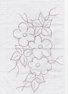 Embroidery Flowers Pattern, Embroidery Patterns Free, Hand Embroidery Designs, Applique Designs, Flower Patterns, Embroidery Stitches, Diy Crafts Hacks, Diy Crafts Jewelry, Bead Sewing
