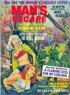 Nazis – Page 2 – Pulp Covers Vintage Book Covers, Vintage Comic Books, Comic Book Covers, Vintage Comics, Pulp Fiction Book, Fiction And Nonfiction, Pulp Magazine, Magazine Art, Magazine Covers