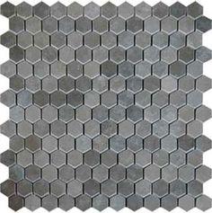 AKDO Honeycomb Mosaics - Bath floor option though it is marble.