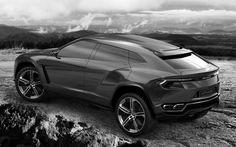 Gray Lamborghini Urus