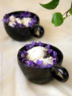 Every Cake You Bake: violet ice cream