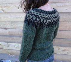 Icelandic sweater / lopapeysa by Waysofwoodfolk